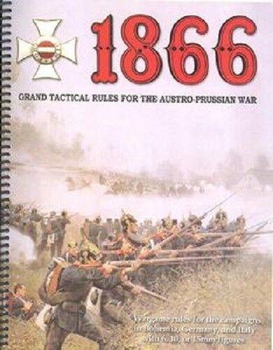 tienda de venta 1866  Grand Táctico Reglas para la Austro Prusiano Prusiano Prusiano Guerra - Nuevo - WarJuegos  venta directa de fábrica