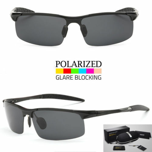 Men/'s Polarized Wrap Around Sunglasses Outdoor Driving Sun Glasses Sport Eyewear