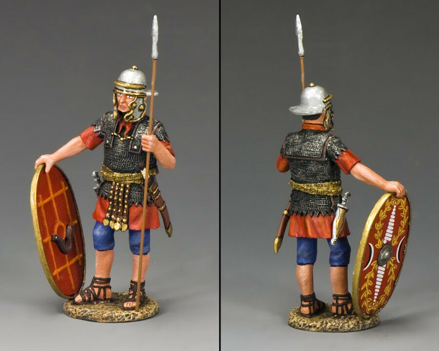 KING & COUNTRY LIFE OF JESUS LOJ034 ROMAN AUXILIARY WITH SPEAR & SHIELD MIB