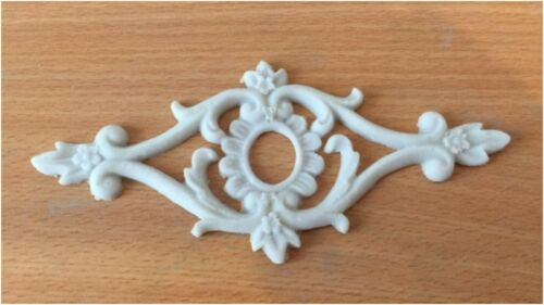 Shabby Chic Furniture Drawer Knob Resin Applique Moulding Onlay Ornate