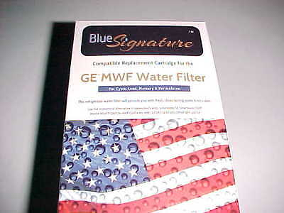Blue Signature GES MWF Refrigerator Water Filter GE Replacement Cartridge New
