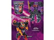 NEW SEALED Transformers Botcon 2012 Shattered Glass Optimus Prime + Kick Off