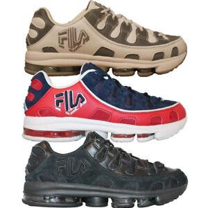 Homme-Fila-SILVA-TRAINER-Retro-Classique-Cross-Training-Baskets-Chaussures-3-Couleurs