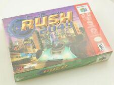 Nintendo 64 N64 - San Francisco Rush 2049 - Brand New Factory Sealed