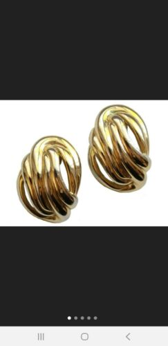 Vintage Gold Givenchy Earrings For Pierced Ears ST