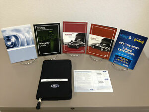 ford fusion oem owners manual  supplements