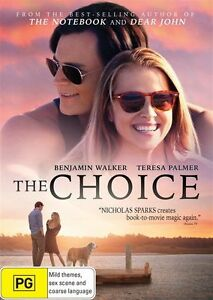 The-Choice-DVD-NEW-Region-4-Australia