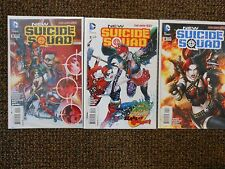 New Suicide Squad #2 #3 #4 new52