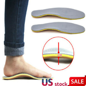 440613c710 Image is loading Orthotic-Insoles-Arch-Support-Shoe-Insert-Pads-Flatfoot-