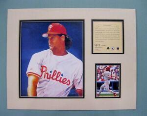 Philadelphia Phillies Darren Daulton 1995 Baseball 11x14 MATTED Kelly Russell