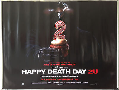 Cinema Poster: HAPPY DEATH DAY 2U 2019 (Advance Quad) Jessica Rothe | eBay