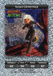 Card-Carrefour-Dreamworks-Monsters-against-Aliens-Susan-Ginormica-No-198