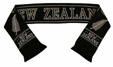 New Zealand All Blacks Rugby Scarf  - Made in UK