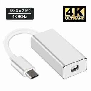 Type-USB-C-to-Mini-DisplayPort-Adapter-4K-60hz-to-DP-Cable-for-Apple-MacBook