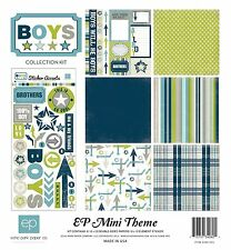 """Echo Park: 12""""x12"""" Mini Theme Kit - Boys Collection"""