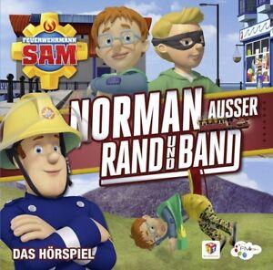 FEUERWEHRMANN-SAM-NORMAN-AUssER-RAND-UND-BAND-DAS-HORSPIEL-CD-NEU