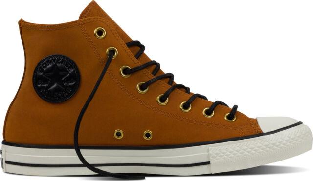c406be9fb7f1 Converse Chuck Taylor High Leather Antique Sepia Egret Men s Shoes Size 8