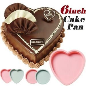 6Inch-Cake-Mold-Silicone-Heart-Round-Mousse-Bread-Pan-Bakeware-Mould-Baking-Tray