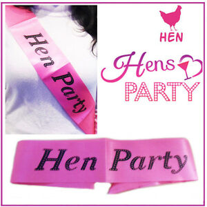 Image Is Loading Hen Do Party Sashes 039 S Las