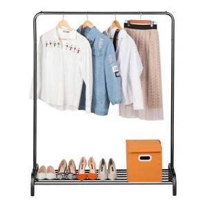 Image Is Loading Houseware Heavy Duty Clothing Garment Rack With Top