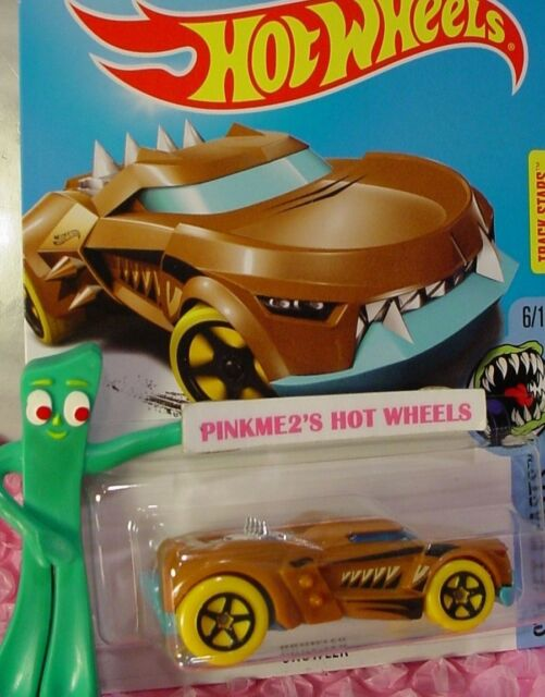 Growler #350 ✰ Marrón / Azul ; 5sp Amarillo o Street Beasts ✰ 2017 Us Hot Wheels