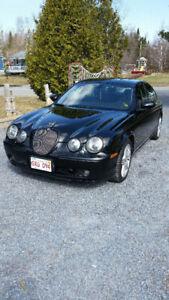 "2002 Jaguar S Type ""R"", 400hp/supercharged, black, no rust"