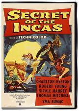 Secret of the Incas 1954 DVD Charlton Heston: Movie that inspired Indiana Jones