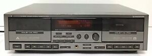 Vintage-JVC-Stereo-Double-Cassette-Player-Recorder-TD-W805-Dolby-HX-Pro