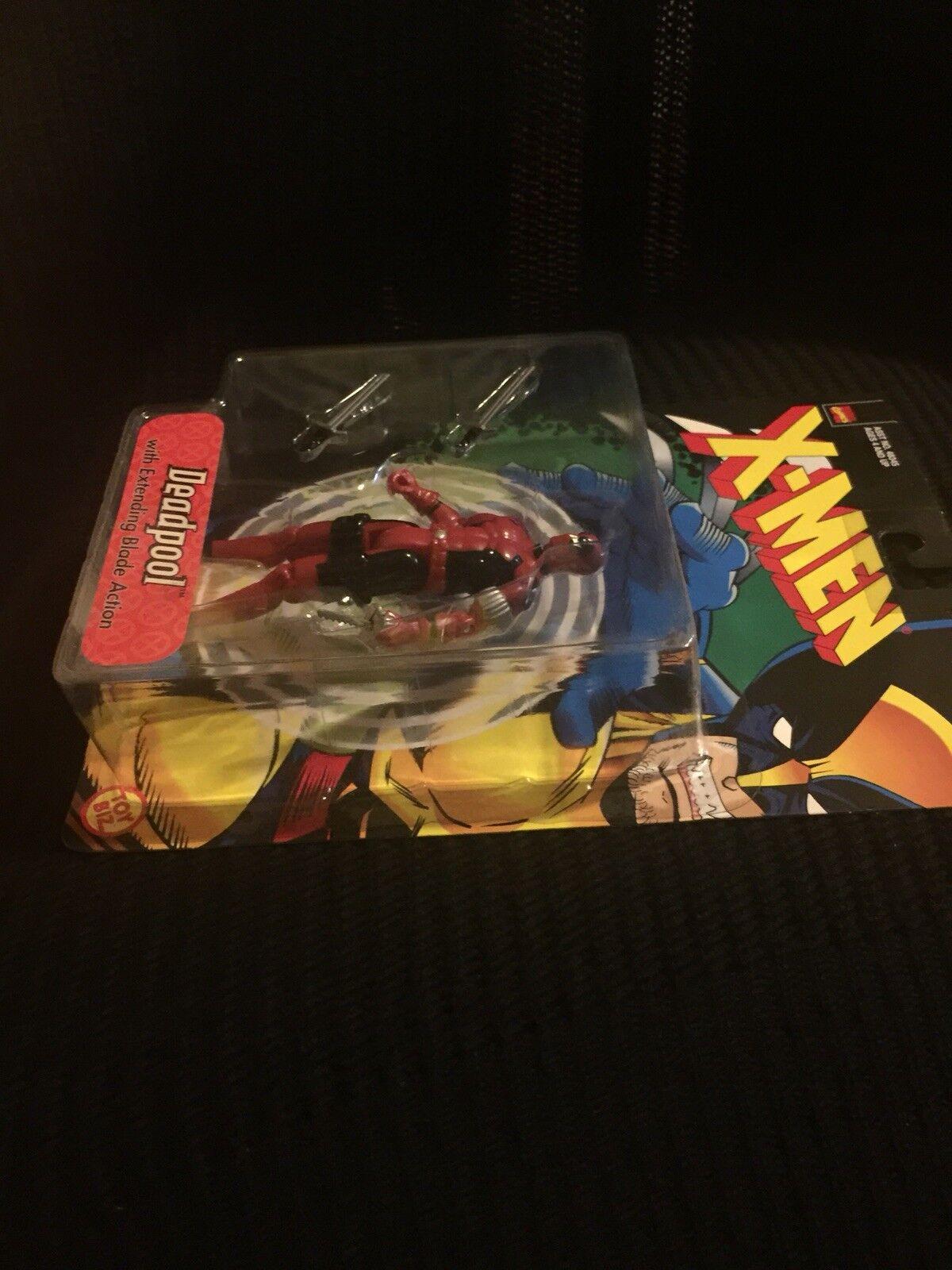 Marvel - comics für deadpool, die klinge actionfigur x männer toybiz