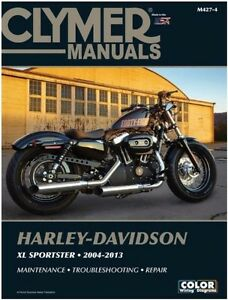 2004 2013 harley xl883 xl1200 sportster repair service workshop rh ebay com Harley-Davidson Sportster 1200 Custom XL Sportster Forums
