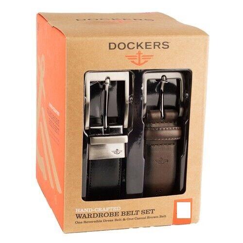 Dockers Wardrobe Belt Set-Medium-NEW