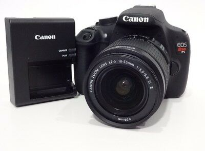 Canon EOS Rebel T5 / EOS 1200D 18.0MP Digital SLR Camera - Black EF-S... #G13