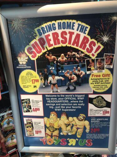 WWF Hasbro Rhythm and Blue Greg Toys R Us POSTER