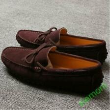 the best attitude a3730 f8a52 Fashion Loafers Gommino Moccasins suede Mens casual Driving slip ons boat  Shoes