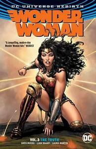 Wonder Woman Rebirth Volume #3 TPB  DC Comics Trade Paperback NM