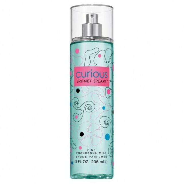 Curious by Britney Spears for Women Body Mist Perfume Spray 8oz