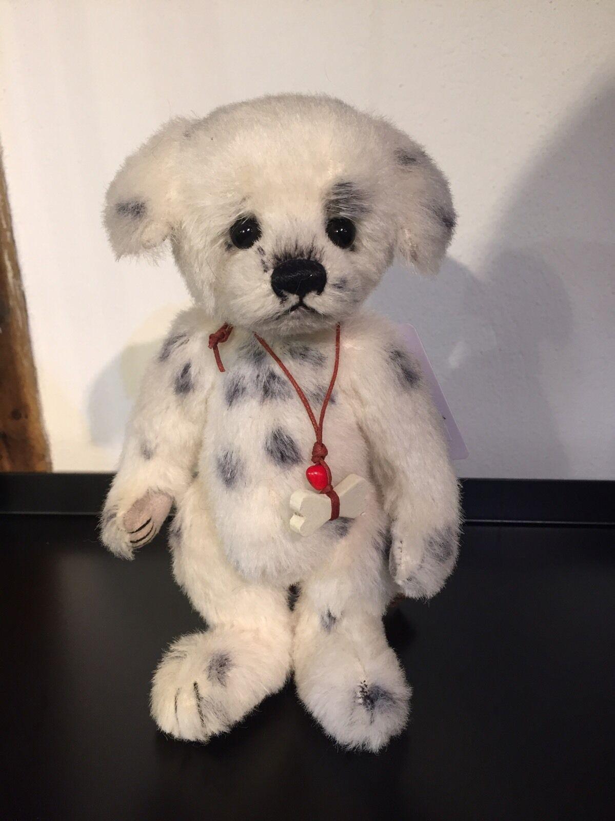 Charlie Bears 2016 Minimo Collection 'Polka Dot' dog Ltd Edition no307 BNWT+bag