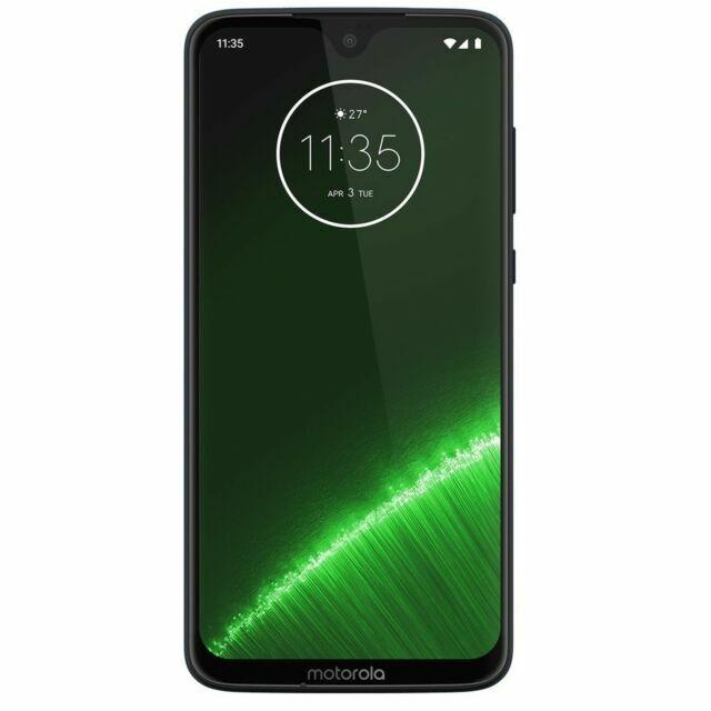 Motorola Moto G7 Plus Xt1965 2 64gb Deep Indigo Unlocked Smartphone Dual Sim For Sale Online Ebay