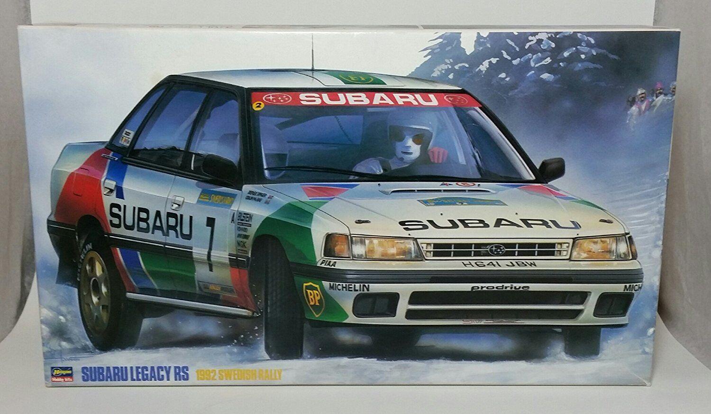Hasegawa 1 24 Subaru Legacy 92 Sueca Rally Kit de Modelismo de Japón F   S