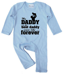 Dirty-Fingers-My-Daddy-is-the-best-Daddy-Father-039-s-Day-Baby-Romper-Suit