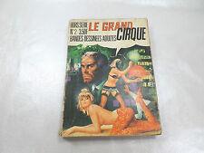 """BANDES DESSINÉES ADULTES N°2 """"LE GRAND CIRQUE"""""""