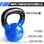 thumbnail 2 - Yes4All Vinyl Coated Kettlebell Weights, Weight Available: 5, 10, 15, 20, 25, 30