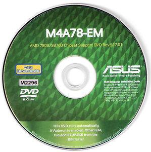 Asus M4A78-VM AMD SATA RAID/AHCI 64x