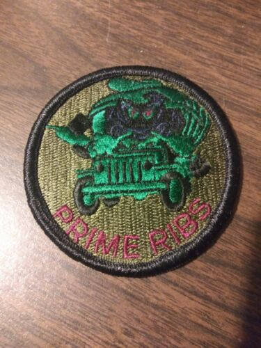 USAF Civil Engineering Prime Ribs Subdued Patch