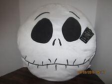 "JACK HEAD 19""x18"" Soft Decor Pillow Halloween Nightmare Before Christmas 2016"
