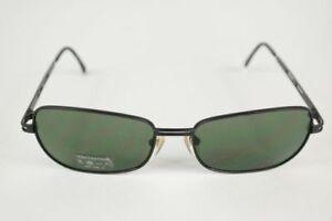 Vintage-Chiemsee-008-56-12-Black-Oval-Sunglasses-NOS