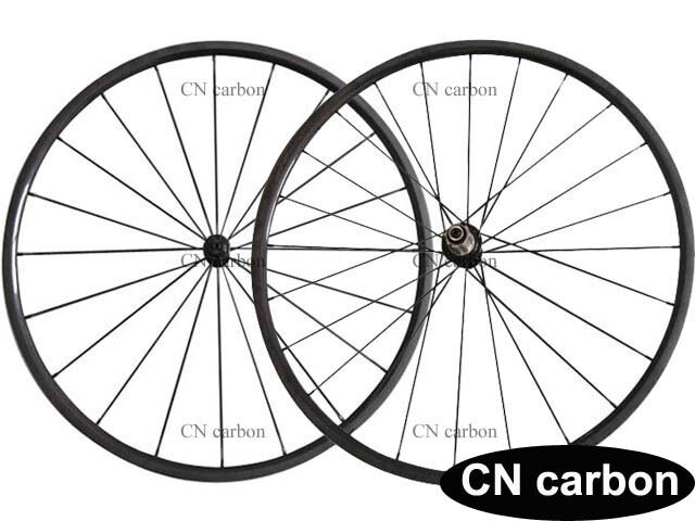 1060g only 24mm Tubular carbon bicycle road wheels