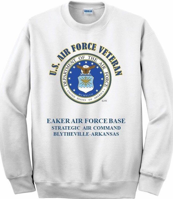 EAKER AIR FORCE BASE STRATEGIC AIR ARKANSASAIR FORCE EMBLEM SWEATSHIRT