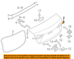 image is loading mazda-oem-10-18-3-trunk-lid-bumper-