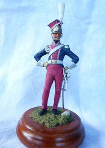 Soldat-de-plomb-90mm-Officier-des-chevau-legers-polonais-de-la-garde-1807-1814